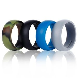 Other - 4 Pack Assorted Men's Silicone rings. Size 12. NEW